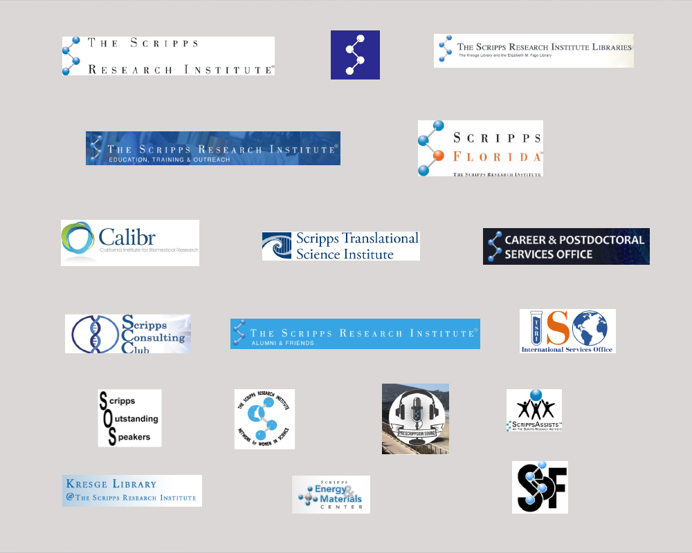 old Scripps Research logos
