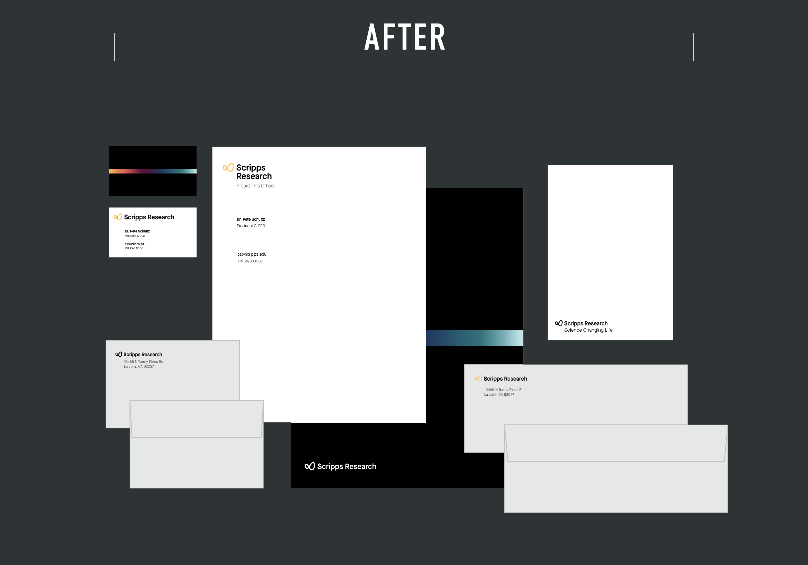 collateral after rebrand